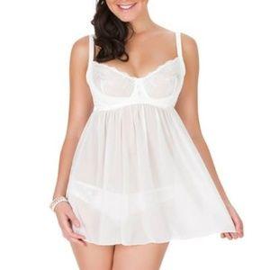 HOT Lace Chemise Affinitas Parfait Comfy Intimates